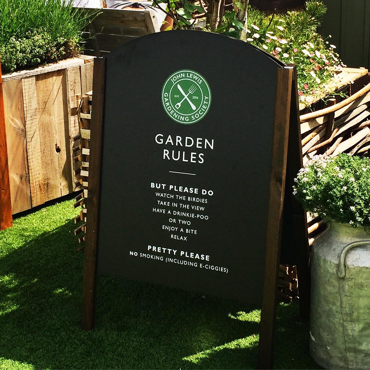 Garden Sheds John Lewis do! john lewis gardening society – the london checklist